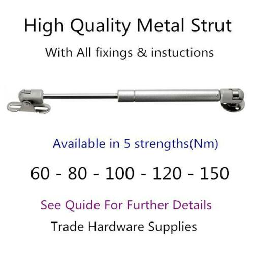 New Hydraulic Gas Spring Stay Strut Lift Support Furniture Kitchen Cabinet Hinge