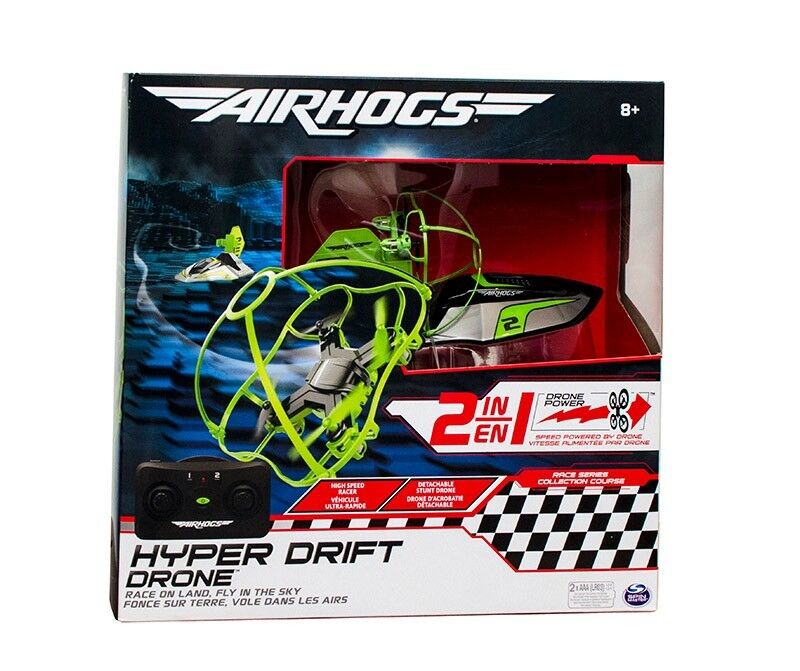 Air Hogs  Hyper Drift Drone Drone Drone  2 in 1 Race or Fly NEW Super Drone 2017  CLEARANCE  56e8d0