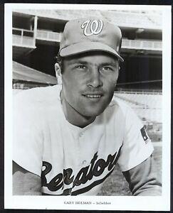 Gary-Holman-WASHINGTON-SENATORS-1960s-ORIGINAL-TEAM-ISSUE-8x10-PHOTO
