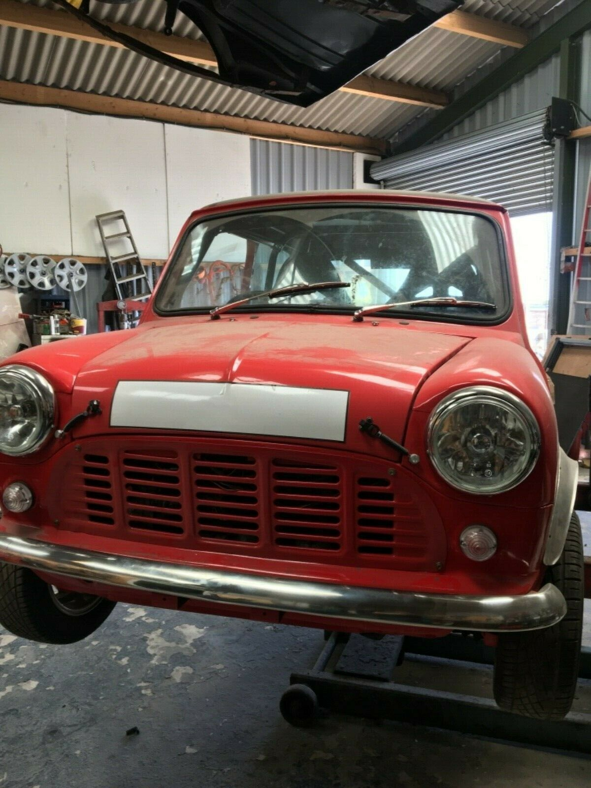 Classic mini 1275 unfinished project rally