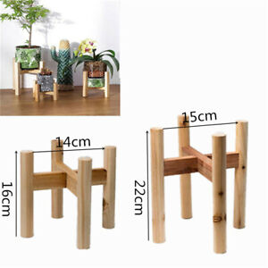Details About Wooden Plant Stand Flower Pot Holder Display Shelves Potted Rack Garden Decor