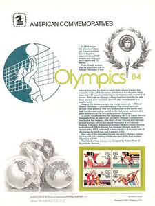 203-35c-Summer-Olympics-C109-C112-USPS-Commemorative-Stamp-Panel