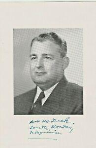 William-M-Tuck-Vintage-B-amp-W-Photograph-Signed-Virginia-Governor