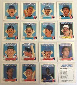 1988 Parker Brothers Starting Lineup Talking Baseball Card You Pick