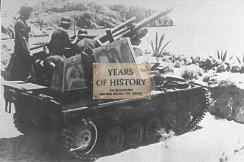 Foto 10x15cm Panzer Tank PzKw II 10.5 cm German