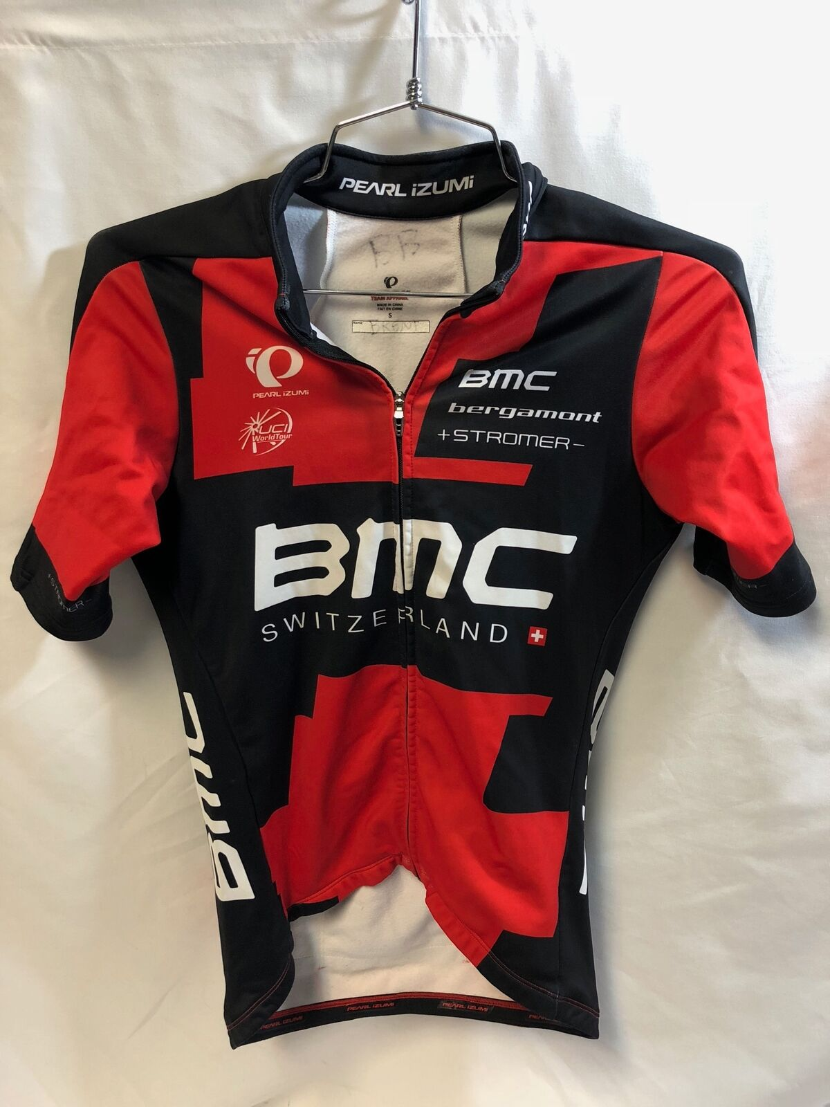 Pearl Izumi BMC Team Apparel Team Winter Jersey Fleece S Small Mens 2014 Cycling