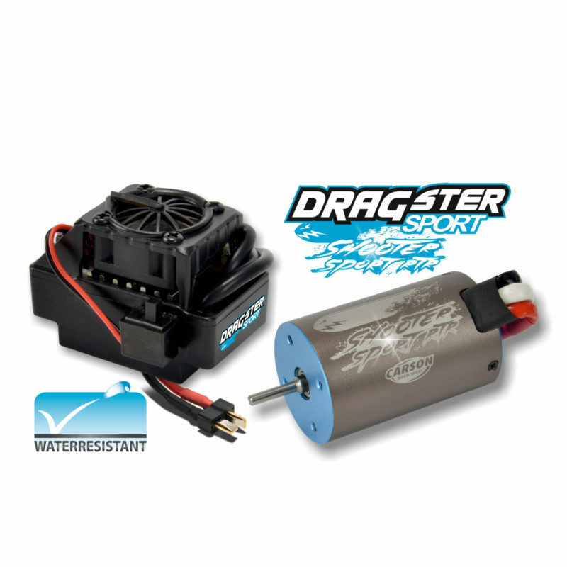 Carson Bl-Set Dragster Sport Rtr 12T Waterpro 500906158