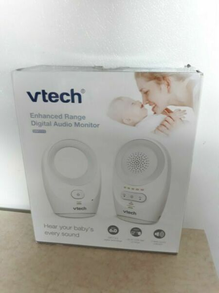 No Battereies Enhanced Range Digital Audio Baby Monitor with Night Light