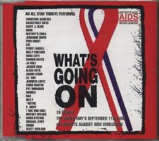 ARTISTS AGAINST AIDS - BONO DESTINY'S CHILD NAS USHER CDs SINGLE 2001 COME NUOVO