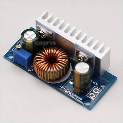DC-DC Boost Adjustable Converter Step-up Module Power Supply Output 5.1V-39V 6A