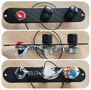 fender telecaster tele custom control plate wiring loom harness rh ebay com