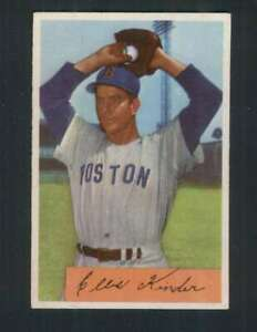 1954 Bowman #98 Ellis Kinder EXMT/EXMT+ Red Sox 95747