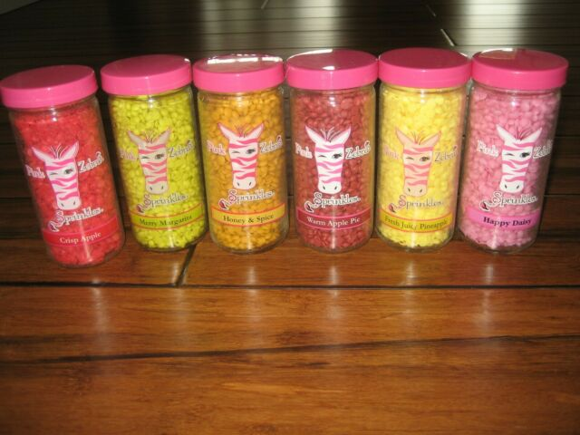 Pink Zebra Sprinkles 16 Oz SALE! NEW FALL SCENTS CARTON Choose Your Scent