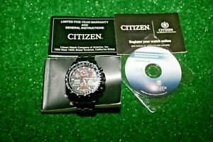 Citizen-Skyhawk-AT-WR-200-Eco-Drive-Radio-Controlled-Watch-Men-039-s