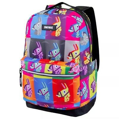 Fortnite  Loot Llama  Pinata 17 Inch  Backpack ~ Authentic~Officially Licensed