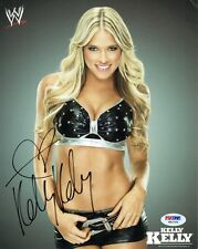 Kelly Kelly Signed WWE Diva Authentic Autographed 8x10 Photo PSA/DNA #W62766