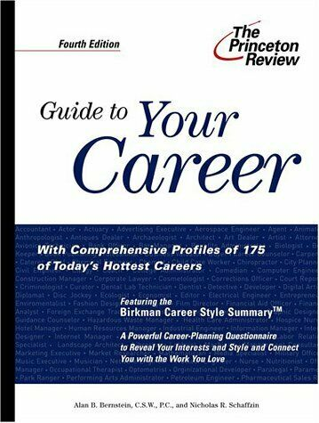 Guide to Your Career  4th Edition  How to Turn Your Interests into a