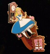 Disney DCL Rescue Captain Mickey Alice In Wonderland Slider LE Pin