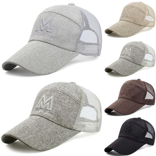 Herren Damen Basecap Kappe Baseball Mütze Sommer Snapback Trucker Sport Cap Hüte