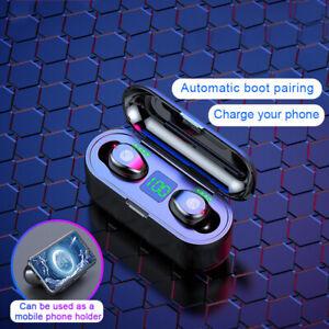 TWS-Mini-Auriculares-Inalambricos-Estereo-con-Bluetooth-5-0-Intrauditivos-Negro
