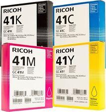 4x ORIGINAL PATRONEN GC-41 Ricoh Aficio SG2100N SG3100SNw SG3110DNw SG3110SFNw