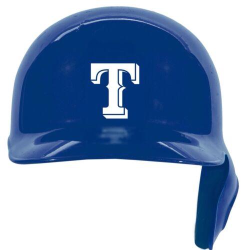 "12 Texas Rangers /""T/"" Baseball Batteur Casque Vinyle Sticker Autocollant Softball"