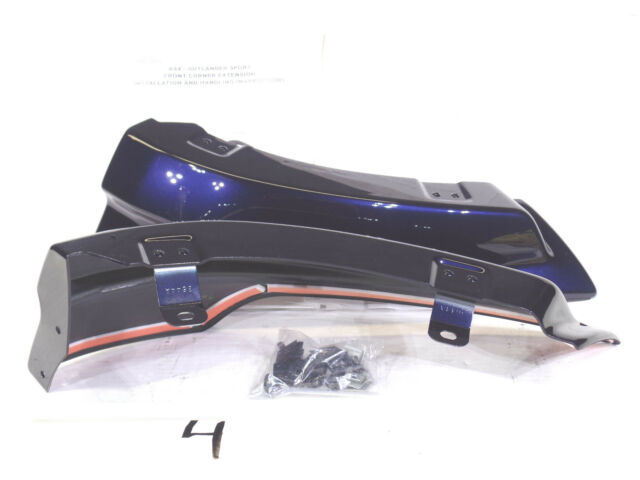 MITSUBISHI OUTLANDER SPORT RVR FRONT CRNR EXTENSIONS COSMIC BLUE D14  MZ575965EX