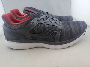 2c5a727317 Details about Saucony Stretch N Go Ease Grey/Red Running Shoe's Men US 9 (Z)