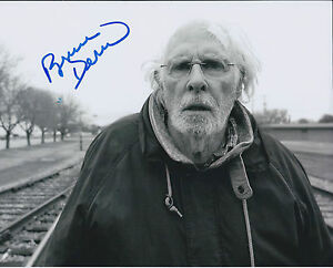 Bruce-DERN-SIGNED-Autograph-10x8-Photo-AFTAL-COA-NEBRASKA-Authentic-RARE