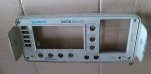 front panel for tdr cable tester tektronix 1503b metallic ebay rh ebay ca Tektronix Digital Oscilloscope tektronix 1502b manual contrast