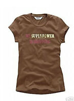 Aeropostale My Super Power Is Shopping T Tee Shirt Top