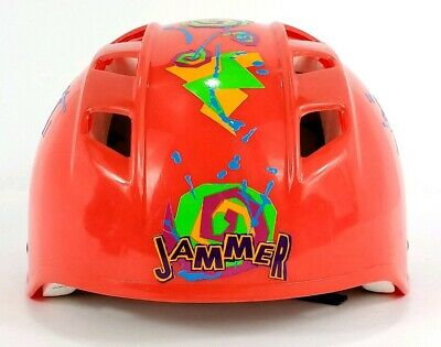 Multi - 54-58cm Krash Pizza Party Youth Bike//Skate Helmet