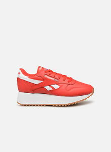 Reebok Classic Leather Damen Sneaker Rot