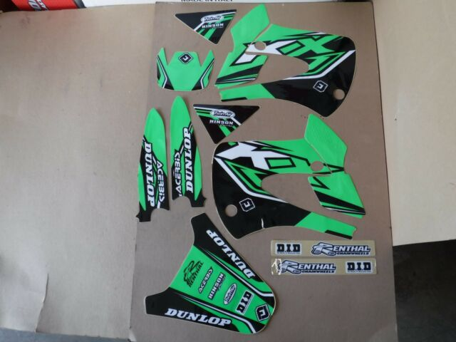 FLU DESIGNS PTS2  GRAPHICS KAWASAKI KX85 KX100  2014  2015 2016 2017