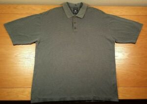 PEBBLE-BEACH-100-Cotton-Business-Casual-Or-Golf-Polo-Shirt-Size-L-Men-039-s-Large