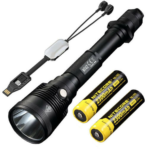 NITECORE MT42 Flashlight  -1800Lm w 2x NL183 Batteries +Portable USB charger  online retailers
