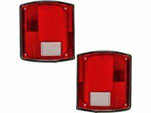 For 1975-1986 Chevrolet C10 Tail Light Lens Set 38944MP 1976 1977 1978 1979 1980
