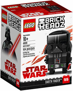 LEGO-BRICKHEADZ-41619-STAR-WARS-DARTH-VADER-LUG-2018-Brick-Headz-RITIRATO-NEW