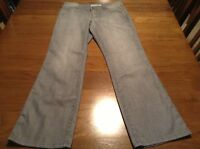 Chico's Platinum Ultimate Fit Dark Gray Wash Jeans - Size 0 Short -