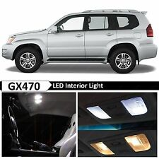 19x White Interior LED Lights Package Kit for 2004-2009 Lexus GX470 + TOOL
