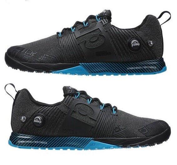 NEW Reebok CrossFit Nano Pump Fusion V67642 mens gym workout workout gym training shoe black 4910be