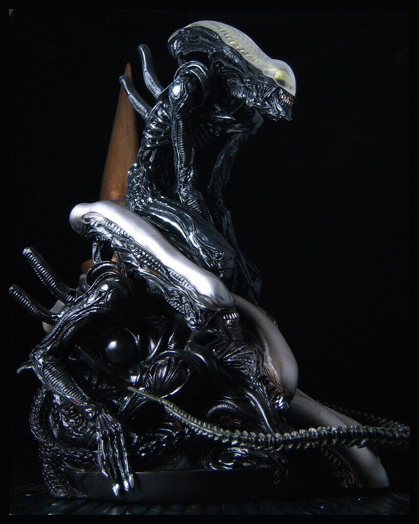 Alien fight packe-modelllllerler ovanliga 1999 Sculpted av Takayuki Takeya.
