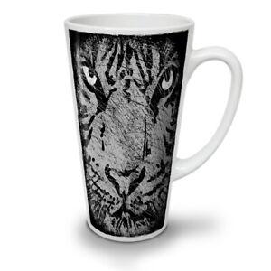 Wild Cat Eye Look NEW White Tea Coffee Latte Mug 12 17 oz   Wellcoda