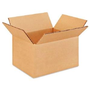 Details About 100 8x6x5 Karton Papier Schachteln Post Packung Kiste Gewellt Karton