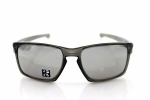 97a87112547 Oakley Sliver Men s Polarized Sunglasses Grey Smoke   Chrome Iridium ...