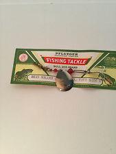 "Vintage, 3.5""  Fishing Pfluger Bear Valley Spinner # 7273 ,W/ Original packaging"
