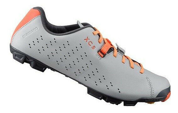 Shimano 2018 SH-XC5 Multi Surface Cycling Bicycle shoes Grey XC5 40 (US 6.7)