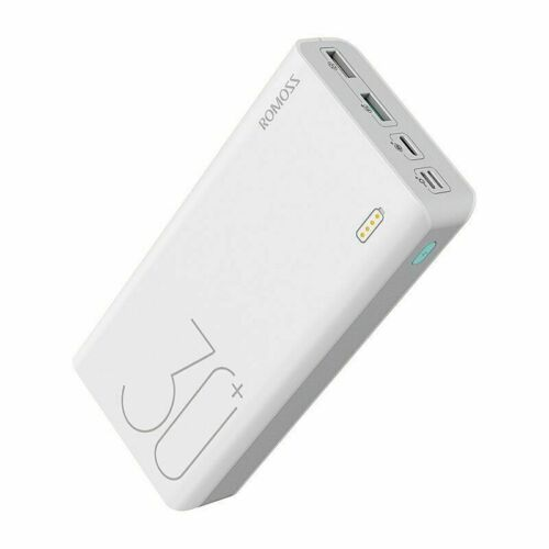 30000mAh ROMOSS Sense 8 Power Bank Portable External Battery With QC Two-way