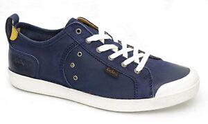 KICKERS-TRIOMPHE-baskets-homme-cuir-bleu-marine-412866-Taille-40