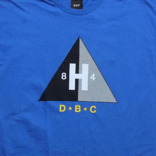 00029ROY $36.00 Huf DBC Tee royal blue
